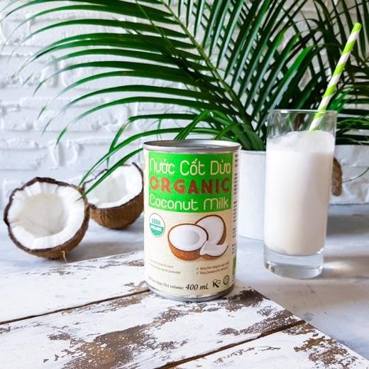 Кокосовое молоко Organic, Банка 400 мл